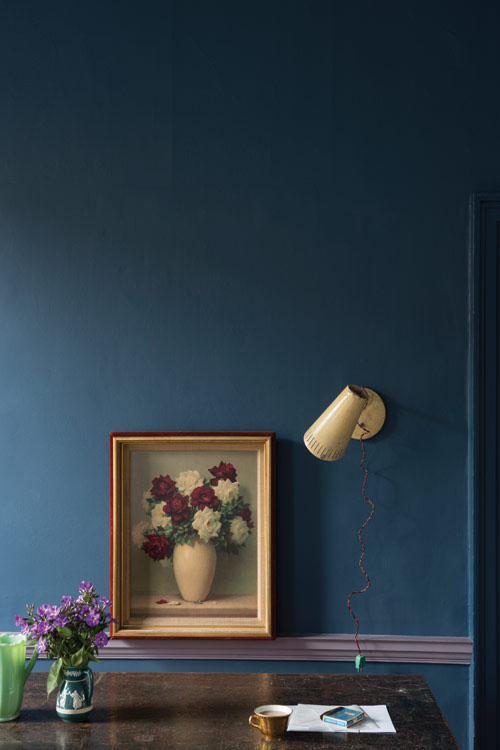Farrow and Ball Stiffkey Blue Farrow-Ball.com